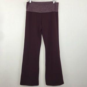 Lululemon Groove pants III Bordeaux drama size 12